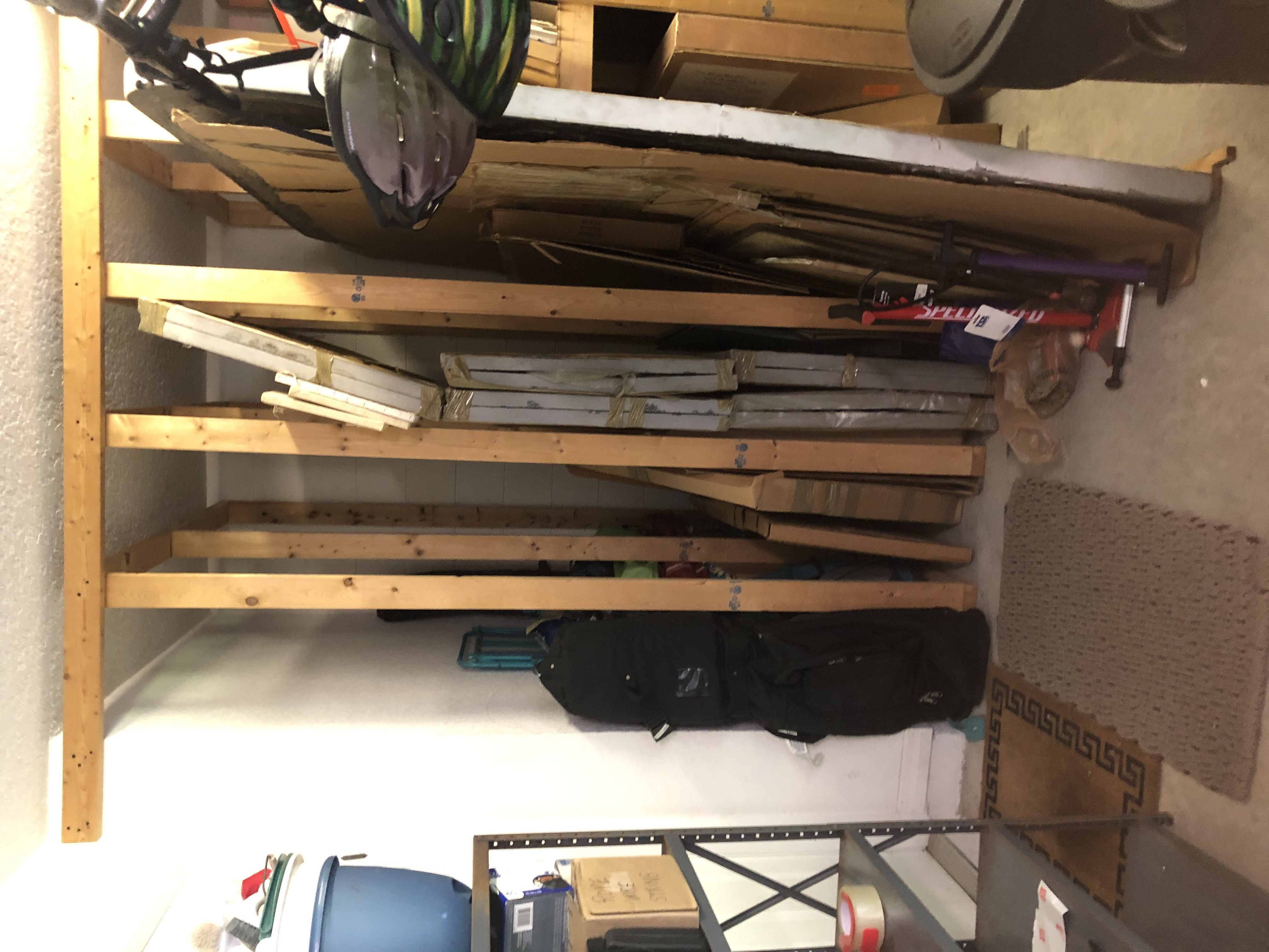 HOME IMPROVEMENT – VIVIAN UNEARTHS HER GARAGE – HOPE IS IN THE AIR